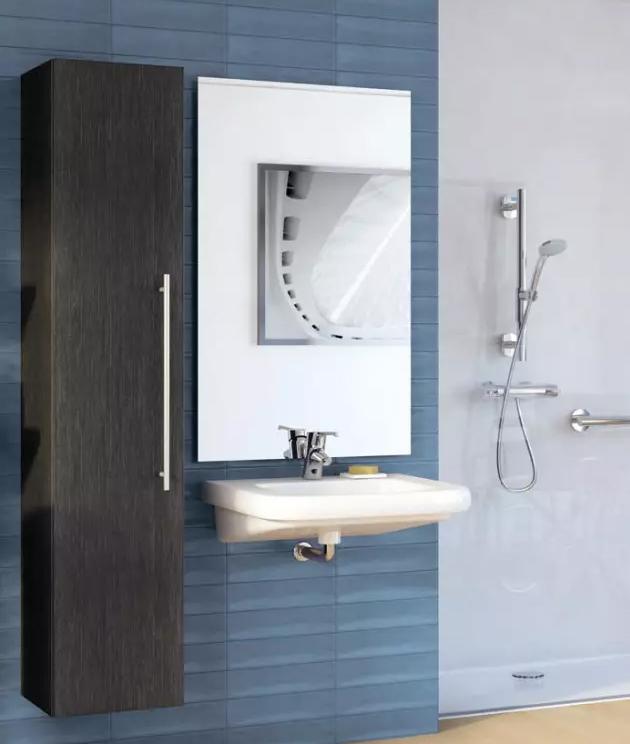 Meuble salle de bain pmr